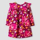 Happy by Pink Chicken Baby Girls' Ruffle Dress - Purple