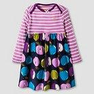 Happy by Pink Chicken Baby Girls' Woven Dress - Purple