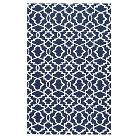 nuLOOM Indoor/Outdoor Trellis Wendie Blue 5' x 8'