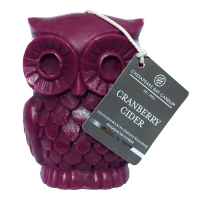 Chesapeake Bay Candle Owl Figural