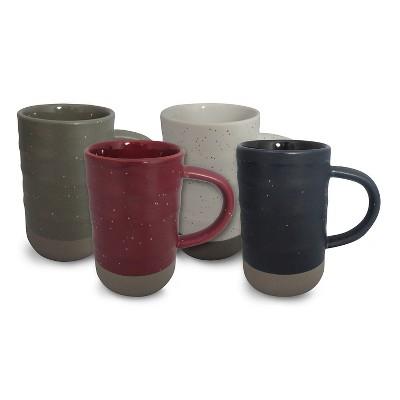 Tall Coffee Mug 12oz Stoneware Set of 4 - Threshold™
