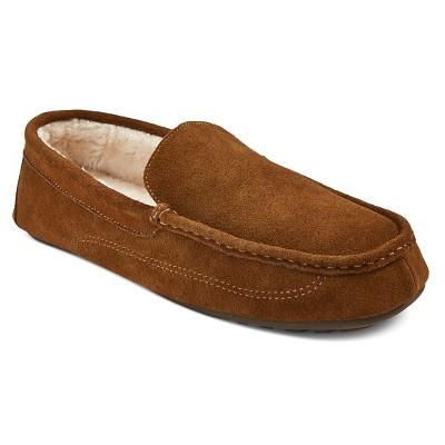 Men's Carlo Moccasin Slippers - Walnut 11