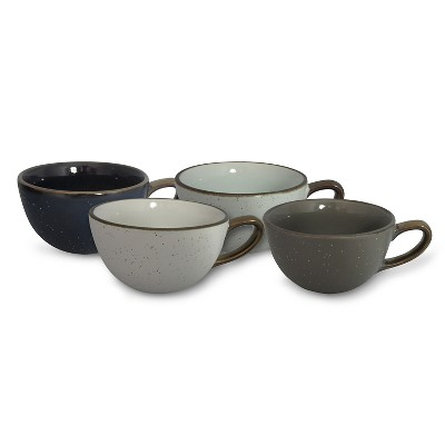 Cappuccino Mug 16oz Stoneware Set of 4 - Threshold™
