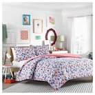 Floral Frenzy Comforter Set Twin - Blue - Teen Vogue®