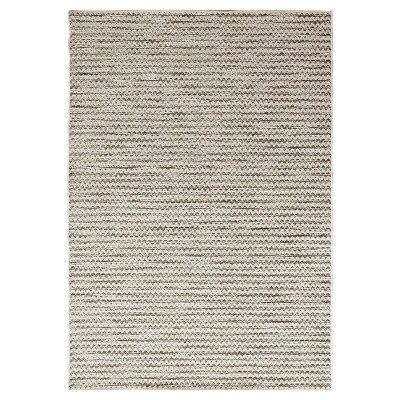 Orian Rugs Breeze Collection Indoor/Outdoor Lapis Area Rug - Gray/ Ivory