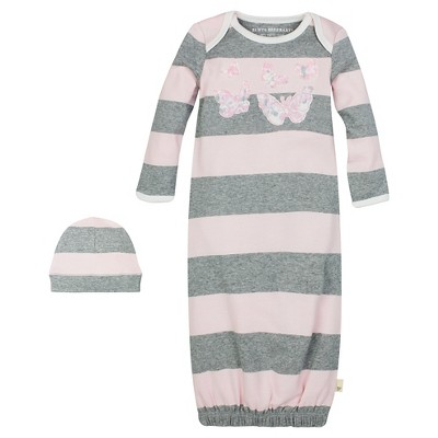 Nightgowns Burt's Bees Baby OSFM Blushing