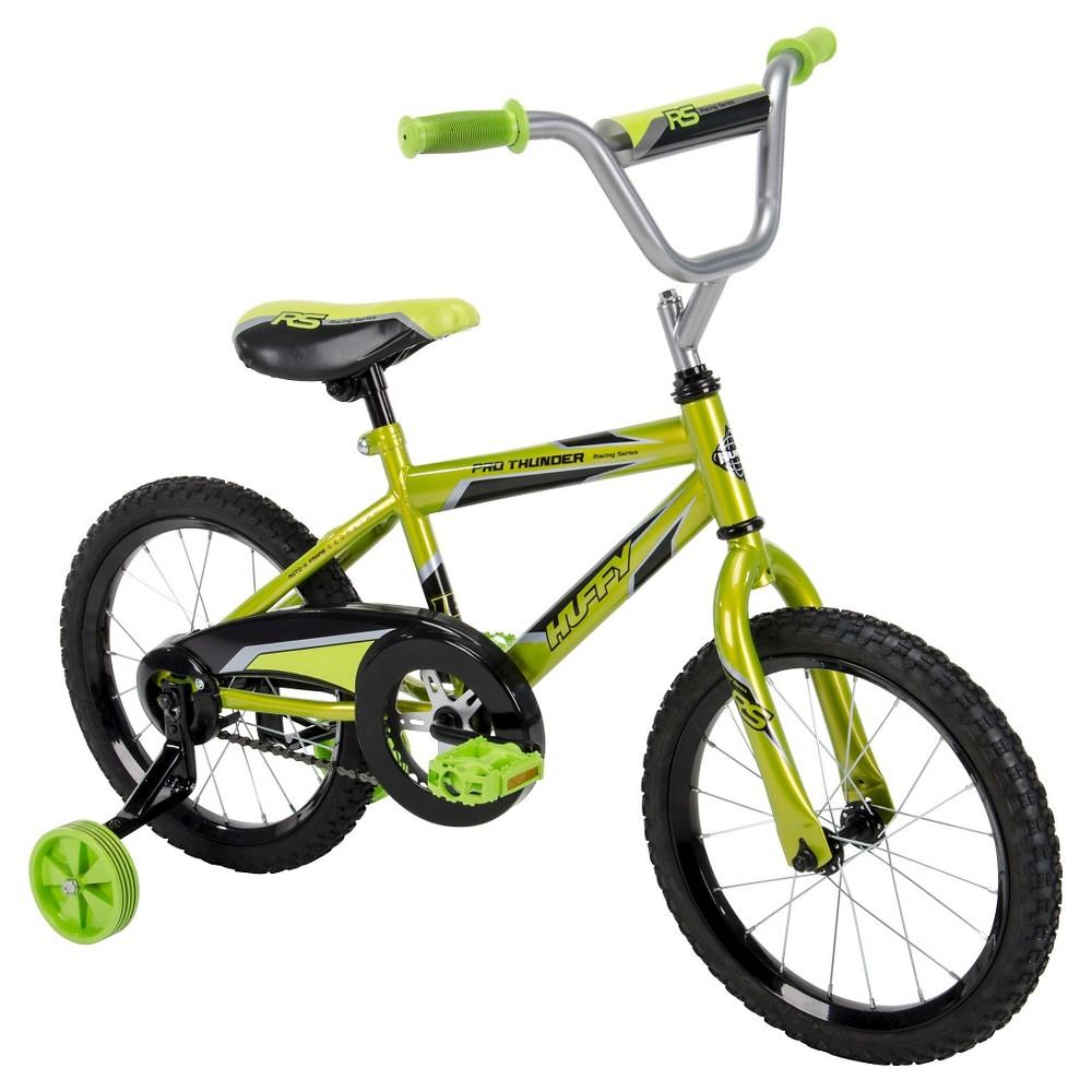 Huffy Pro Thunder Bike - 16, Green