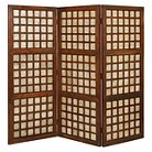Capice Square Room Divider - Brown - Screen Gems