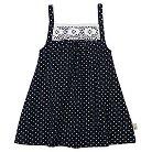 Burt's Bees Baby Toddler Girls' Star Dress 5 - Blue