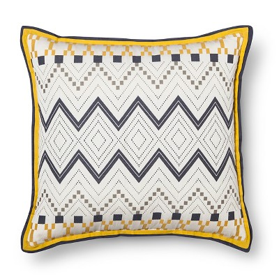 Throw Pillow Woven Global Oversized Multi-Colored - Room Essentials™