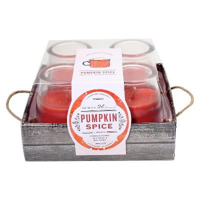 Candle Set Pumpkin Spice - 4 pack