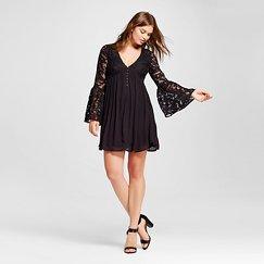Women's Button Front A Line Dresses - Xhilaration™ (Juniors')