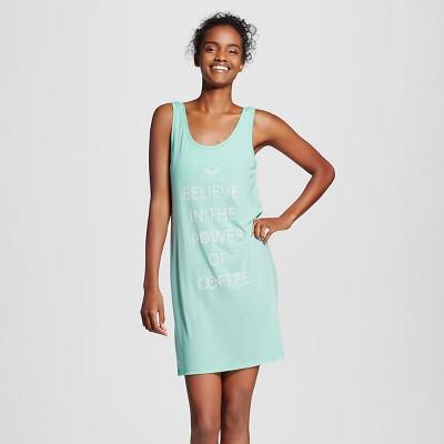 Women's Sleep T-Shirts Crystalized Green L - Xhilaration™