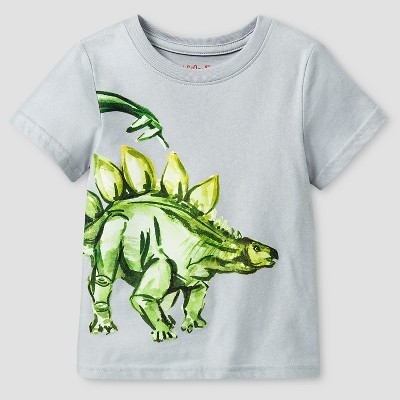 Baby Boys' Short Sleeve T-Shirt Baby Cat & Jack™ - Grey 18 M