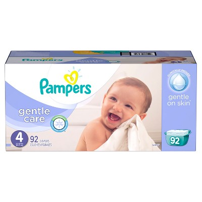Pampers Gentle Care Diapers Giant Pack - Size 4 (92 Count)