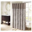 """Contact Fremont Polyester Jacquard Shower Curtain - Blue (108""""x72"""")"""