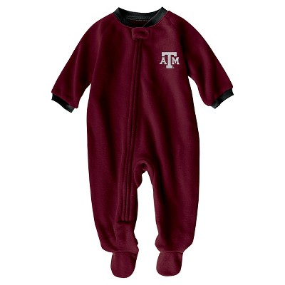 NCAA Texas A&M Aggies Boys Footed Sleeper - 0-3 M