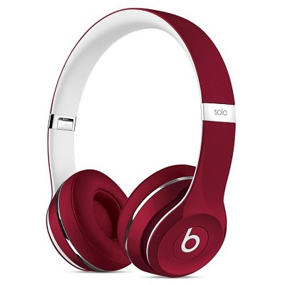 Beats Solo 2 Luxe Edition - Red