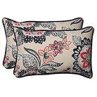 Pillow Perfect Outdoor Decorative Pillow Set - Light Tan