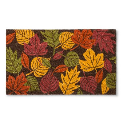 "Threshold™ Fall Welcome Leaves - (1'6""x2'6"")"