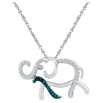 elephant jewelry necklace target