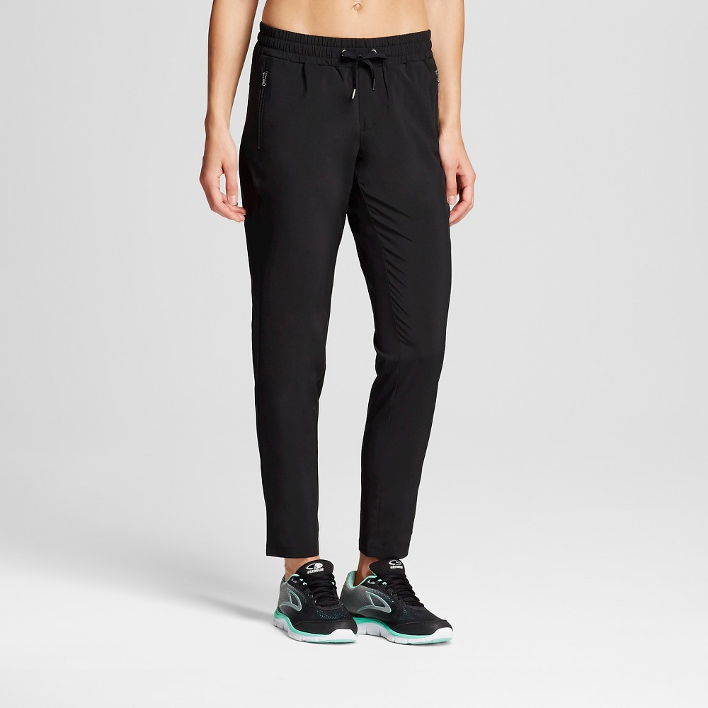 Women's Printed Woven Pant Black S - C9 Champion, Size: Small