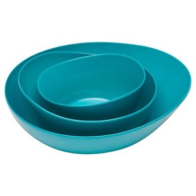 Zak! Moso Serve Bowl Azure - Set of 3