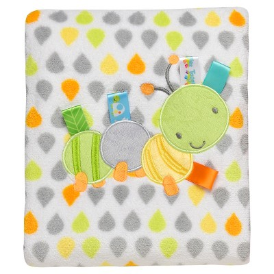Taggies Baby Blanket (2ply) - Lime