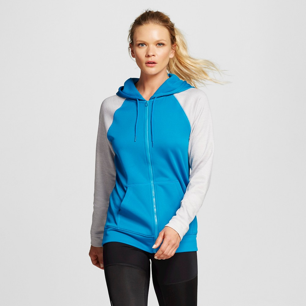 Women's Activewear Sweatshirt - Underwater Blue XL - C9 Champion