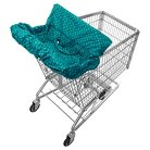 Infantino Fold Away Shopping Cart Cover - Hedgehogs