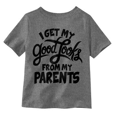 Baby Boys' T-Shirt - Charcoal Heather 12 M