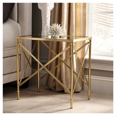 Brass End Table - Donny Osmond Home