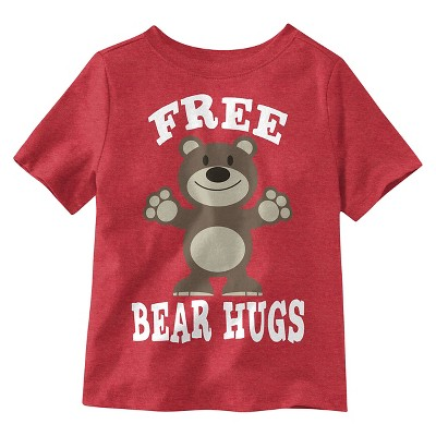 Baby Boys' T-Shirt - Red Heather 18 M
