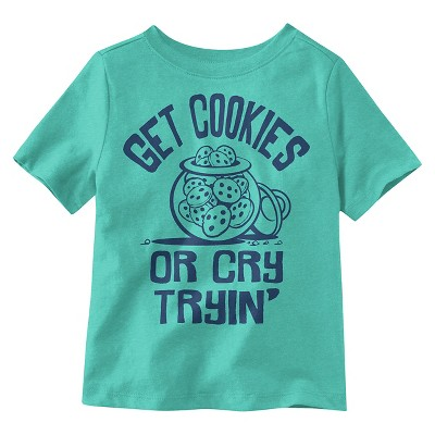 Baby Boys' T-Shirt - Turquoise Heather 18 M