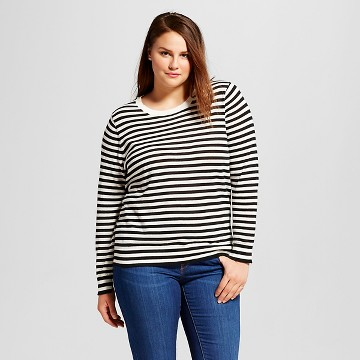 Women's Plus Size Perfect Crew - Who What Wear™