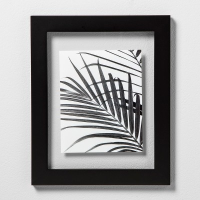 "Wide Black Gallery 11""x14"" Float Frame - Room Essentials™"