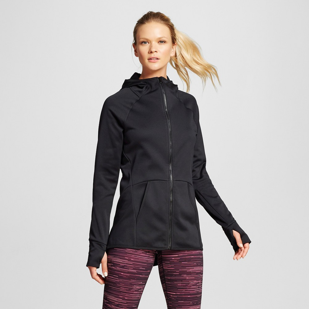 Women's Tech Fleece Full Zip Jacket - Black Xxl - C9 Champion