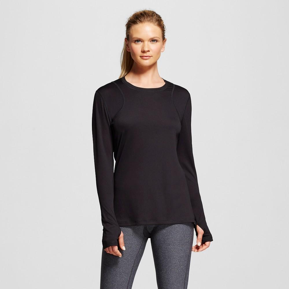 Women's Long Sleeve Ventilated Tech T-Shirt - Black XL - C9 Champion