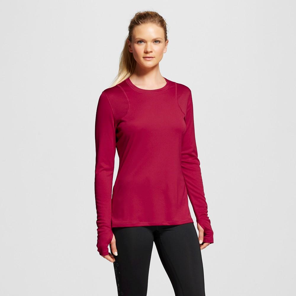 Women's Long Sleeve Ventilated Tech T-Shirt - Armature Red Xxl - C9 Champion