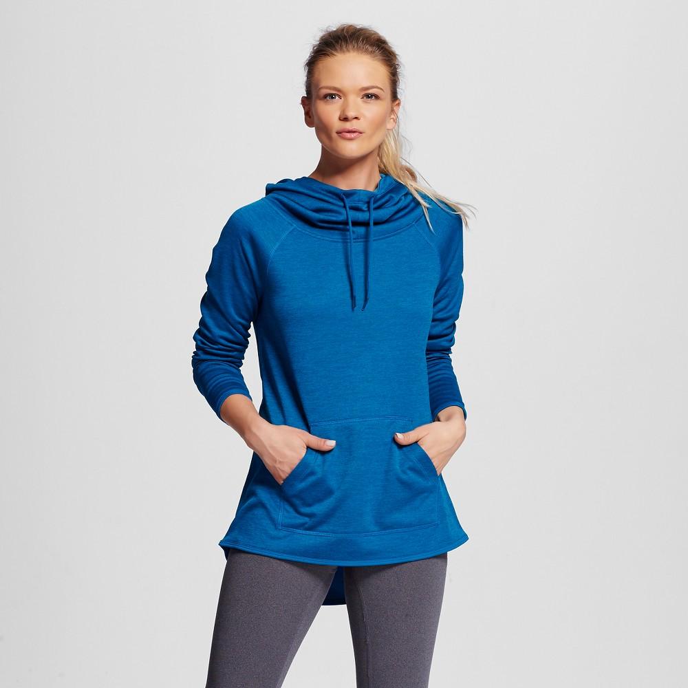 Women's Tech Fleece Hoodie - Blue Oasis Heather M - C9 Champion, Size: Medium, Oasis Blue