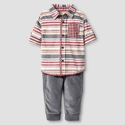 Toddler Boys' Button down shirt - Ruby Ring 2T - Genuine Kids™ from Oshkosh®