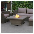 Real Flame® Monaco Square Low Height Fire Table - Cream