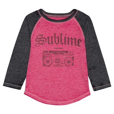 Toddler Girls' Sublime T-Shirt - Pink 2T
