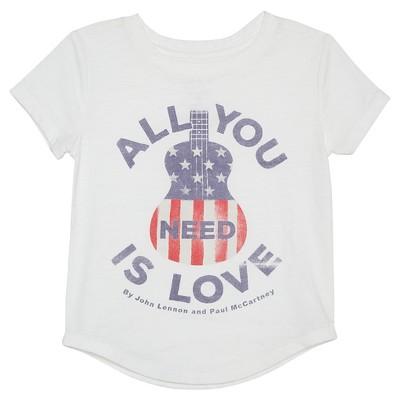 Baby Girls' John Lennon T-Shirt - Fresh White 18 M