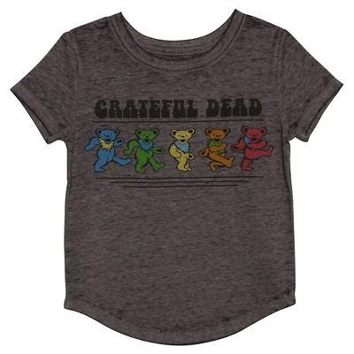 Baby Girls' Grateful Dead T-Shirt - Cloudy Grey