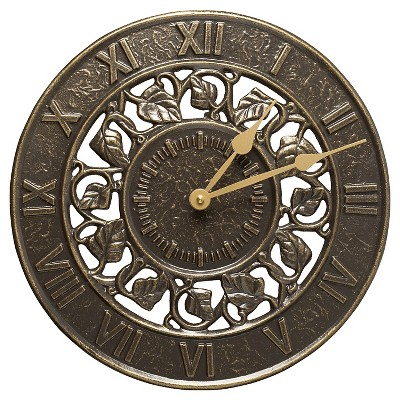 Ivy Silhouette Clock - French Bronze