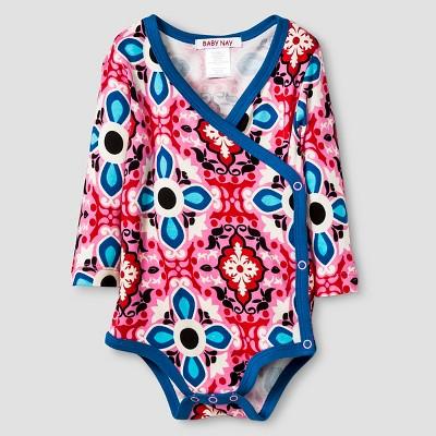 Baby Nay® Baby Girls' Frida Kimono Bodysuit - Pink 3M