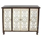 Wooden Cabinet - Brown - Screen Gems