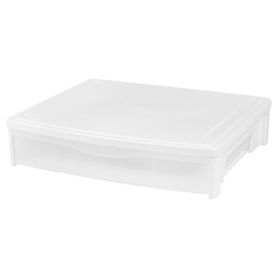 Iris 3 Pack Underbed Storage Drawer - White