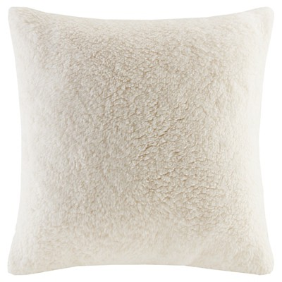 Faux Shearling Decorative Pillow - Nate Berkus™